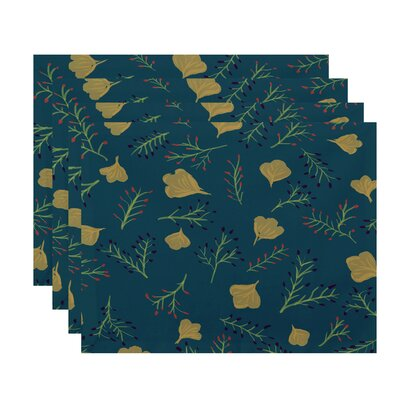 Orchard Lane Spring Blooms Floral Placemat