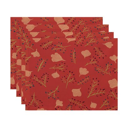 Alcott Hill Orchard Lane Spring Blooms Floral Placemat