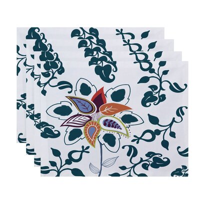 Orchard Lane Paisley Pop Floral Placemat