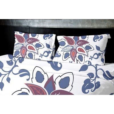 Orchard Lane Paisley Pop Floral Duvet Cover