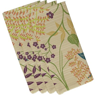Alcott Hill Orchard Lane Botanical Floral Napkin