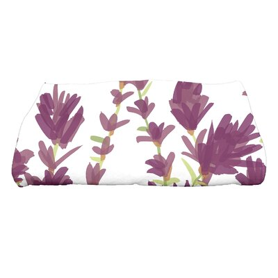 Orchard Lane Bath Towel Color: Purple