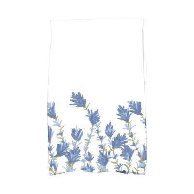 Orchard Lane Lavender Hand Towel Color: Blue