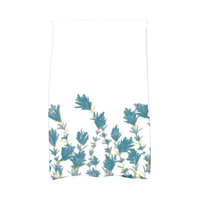 Orchard Lane Lavender Hand Towel Color: Teal