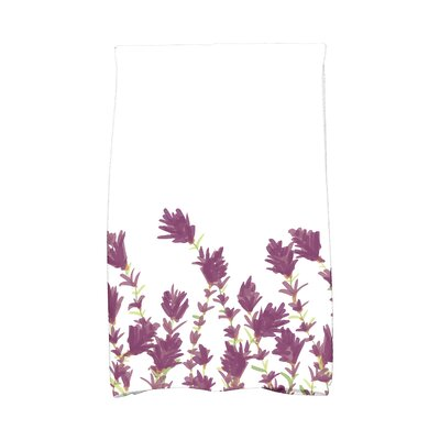Orchard Lane Lavender Hand Towel Color: Purple