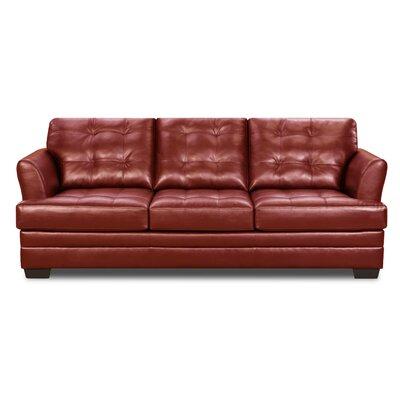 Simmons Upholstery Rathdowney Sleeper Sofa Size: Full, Upholstery: Cardinal