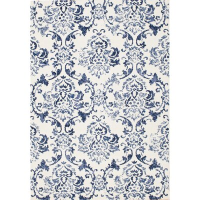 Northampton Bone/Light Blue Area Rug