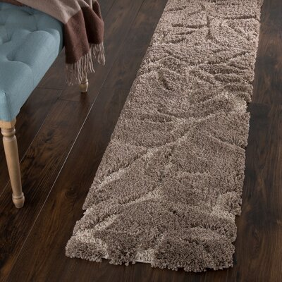 Northumberland Hand-Woven Brown Area Rug Rug Size: Runner 18 x 7