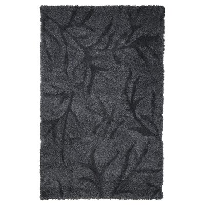 Northumberland Dark Grey Area Rug Rug Size: 5' x 7'7