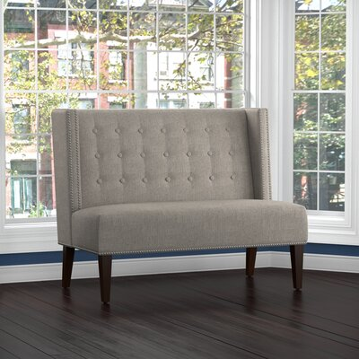 Perth Settee Upholstery: Gray
