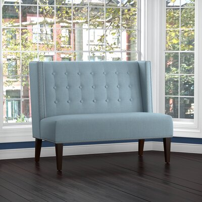 Perth Settee Upholstery: Blue