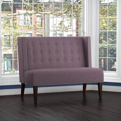 Perth Settee Upholstery: Purple