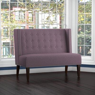 Perth Settee Upholstery: Purple