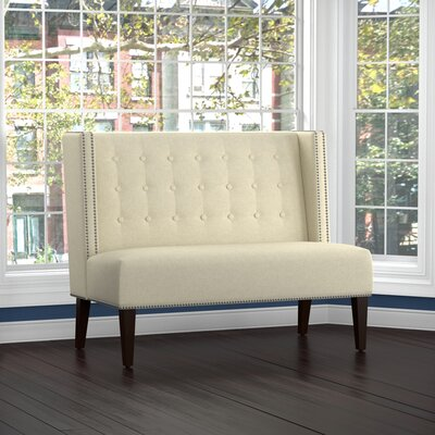 Perth Settee Upholstery: Tan