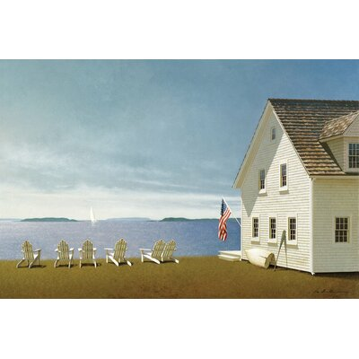 Summer Retreat Photographic Print on Wrapped Canvas Size: 12