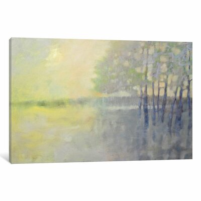 Spring Flood Painting Print on Wrapped Canvas