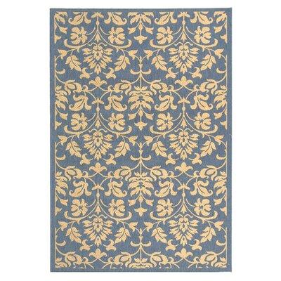 Bexton Blue/Natural Indoor/Outdoor Rug Rug Size: 9 x 126
