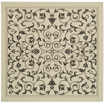 Bexton Gray Outdoor/Indoor Area Rug Rug Size: Square 67