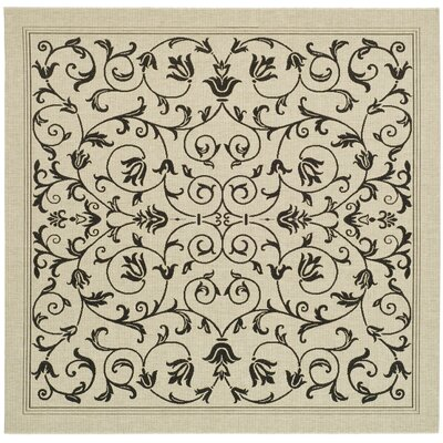 Bexton Gray Outdoor/Indoor Area Rug Rug Size: Square 710