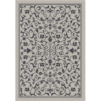 Bexton Gray Outdoor/Indoor Area Rug Rug Size: 67 x 96