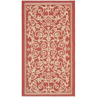 Bexton Natural Indoor/Outdoor Rug Rug Size: Rectangle 27 x 5