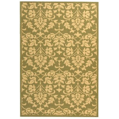 Bexton Olive/Natural Indoor/Outdoor Area Rug Rug Size: 8 x 11