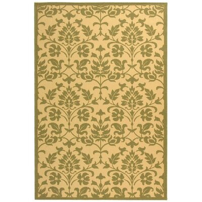 Bexton Natural/Olive Indoor/Outdoor Area Rug
