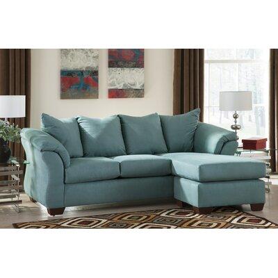 Alcott Hill ALCT7283 31893930 Huntsville Sectional Upholstery