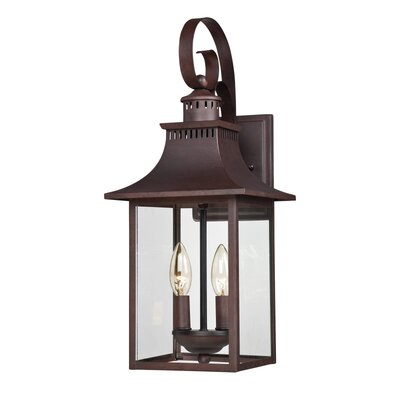 Tewksbury 2-Light Outdoor Wall Lantern