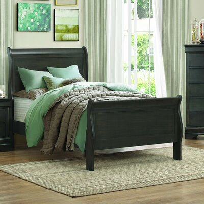 Waynesburg Twin Platform Bed Finish: Stained Gray