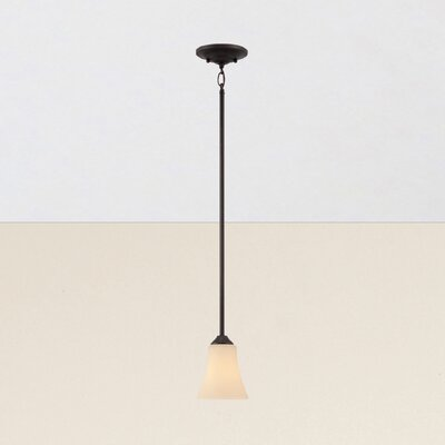 Oakside 1-Light Mini Pendant Finish: Espresso