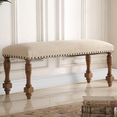 Wilhelmina Upholstered Entryway Bench