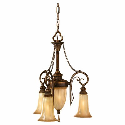 Norwood 4-Light Shaded Chandelier