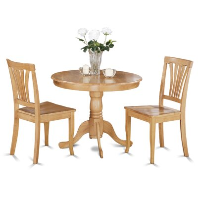 Ranshaw 3 Piece Bistro Set Finish: Oak