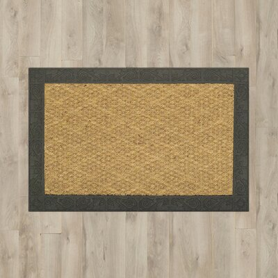 Alcott Hill Lakewood Scroll Border Doormat