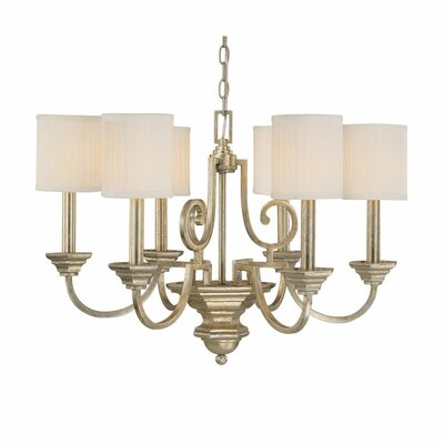 Ellicott Mills 6-Light Shaded Chandelier