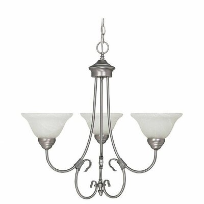 Selby 3-Light Shaded Chandelier