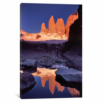 Dawn Reflection Photographic Print on Wrapped Canvas