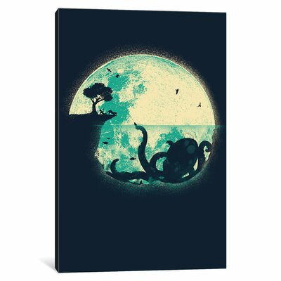 The Big One Graphic Art on Wrapped Canvas