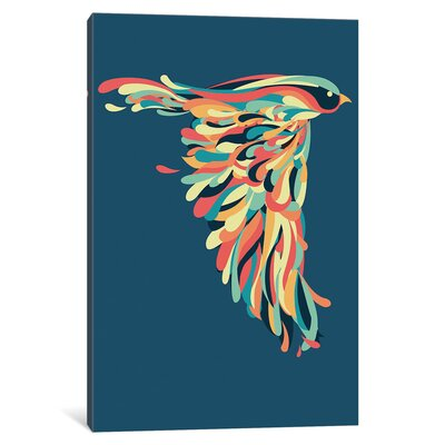 Downstroke Graphic Art on Wrapped Canvas