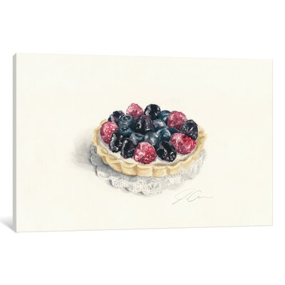 Tart Painting Print on Wrapped Canvas