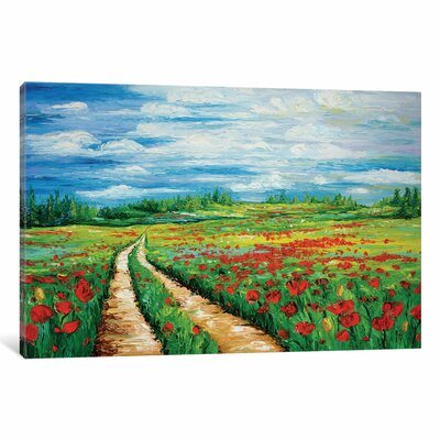 Pathway to Tranquility Painting Print on Wrapped Canvas Size: 12