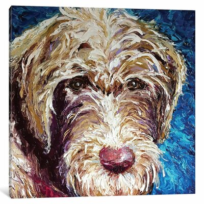 Polly Painting Print on Wrapped Canvas