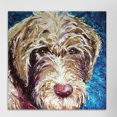Polly Painting Print on Wrapped Canvas Size: 12