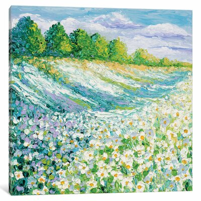 Summer Days Painting Print on Wrapped Canvas