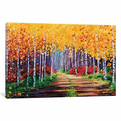Traversing Painting Print on Wrapped Canvas