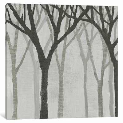 Spring Trees Greystone I Painting Print on Wrapped Canvas