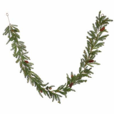Alcott Hill Spruce Artificial Christmas Garland Unlit