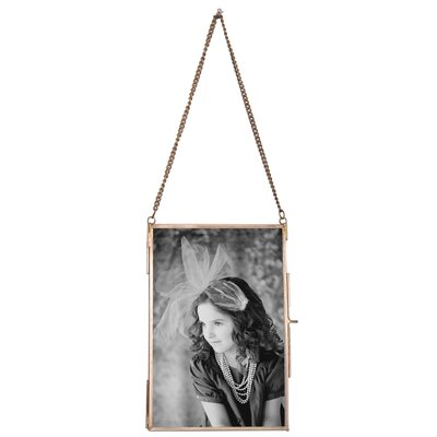 Hanging Picture Frame (Set of 2) Size: 4 x 6