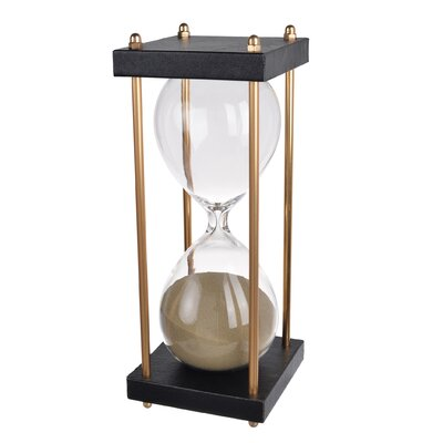 Glass 30-Minute Hourglass